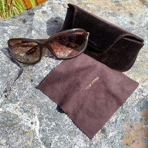 Tom Ford Jennifer Sunglasses w/ Case & Cloth